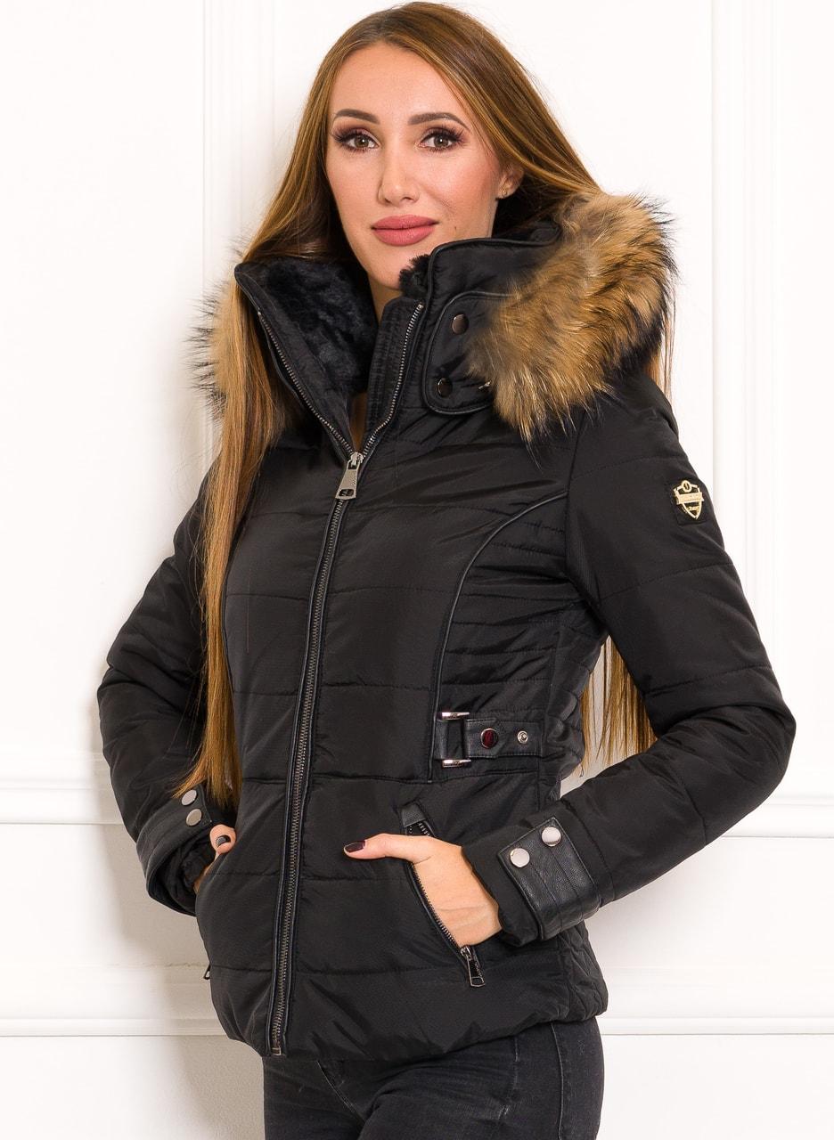 daf0138d60 Glamadise.hu Fashion paradise - Női téli kabát eredeti rókaszőrrel ...
