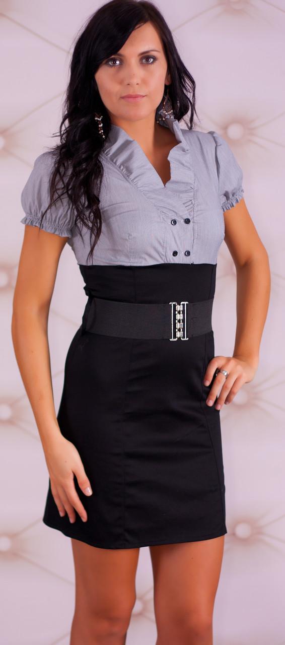 Dámské business šaty - Glamorous by Glam - Šaty - Dámské oblečení ... 14592b8060e