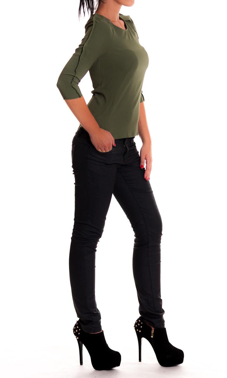 Glamadise.sk - -75% Dámske elegantné tričko zelenej - Nara.z - Topy ... 9f0352c150b