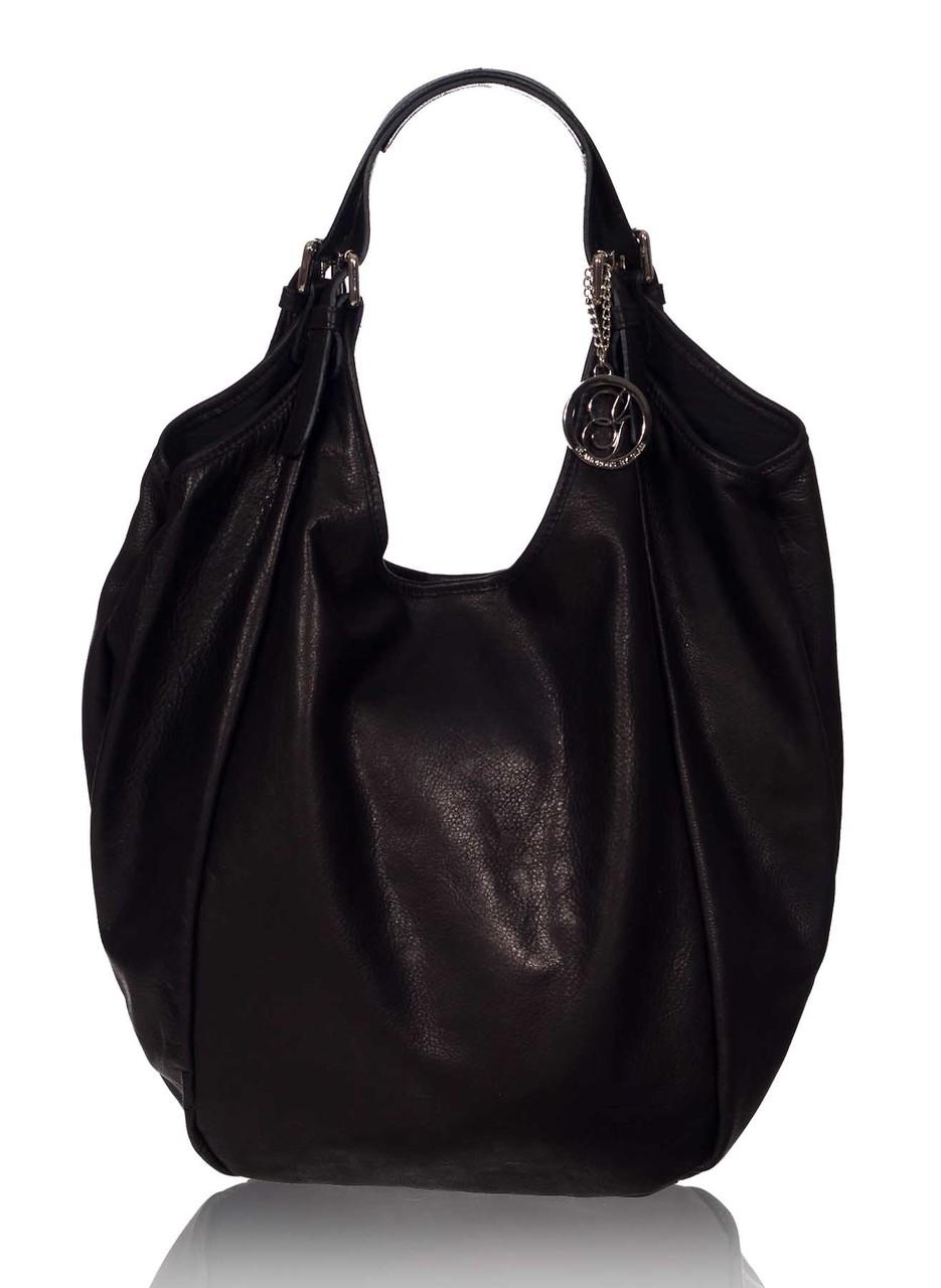 Glamadise.sk - Dámska kožená kabelka čierna veľká - Glamorous by ... 5f3377774fd