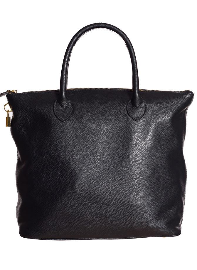 Glamadise.sk - Dámska kožená kabelka čierna - Glamorous by GLAM ... bed49f27436