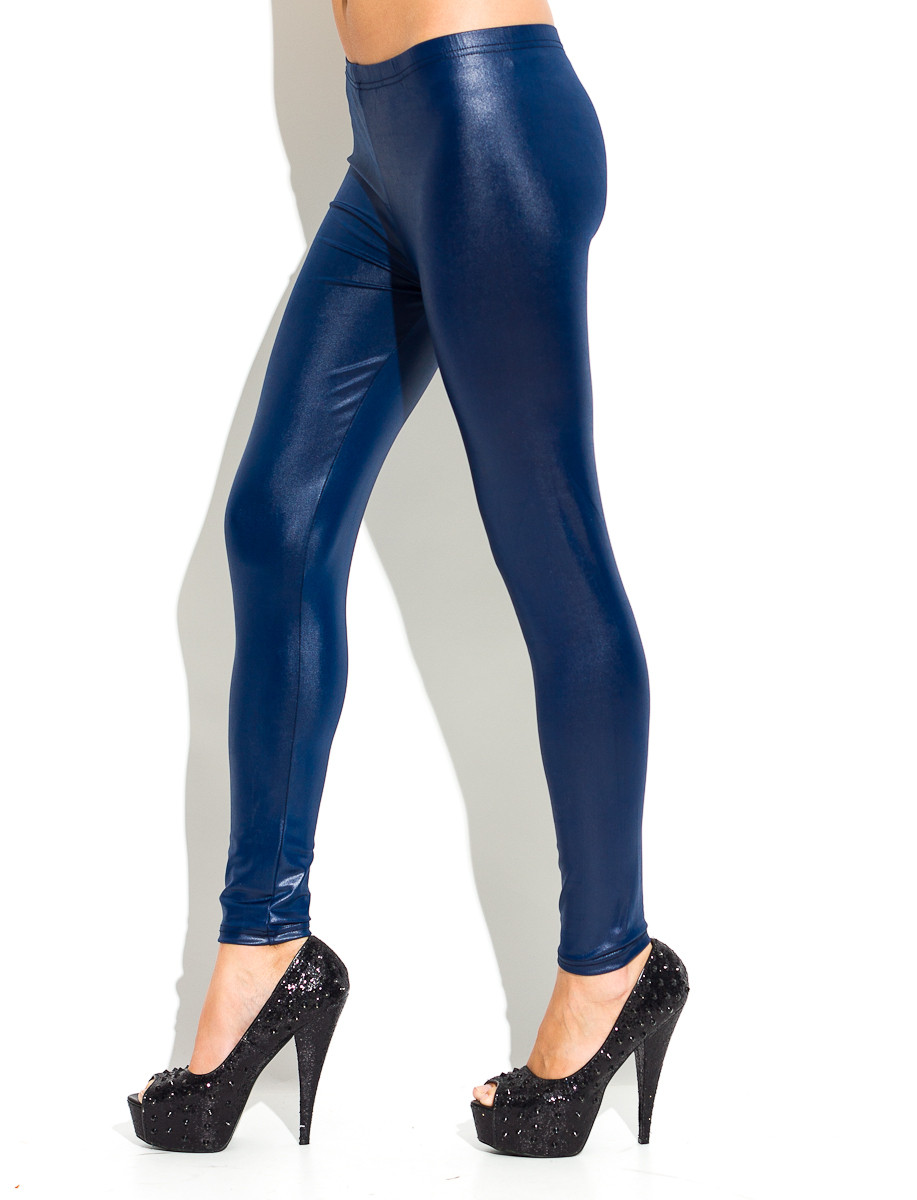 ddbc4885abb Dámské legíny modré - Legíny - Kalhoty