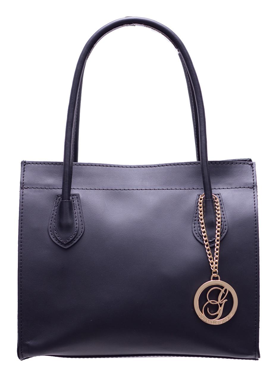 Glamadise.sk - Dámska kožená kabelka malá - čierna - Glamorous by ... 7f72458423d