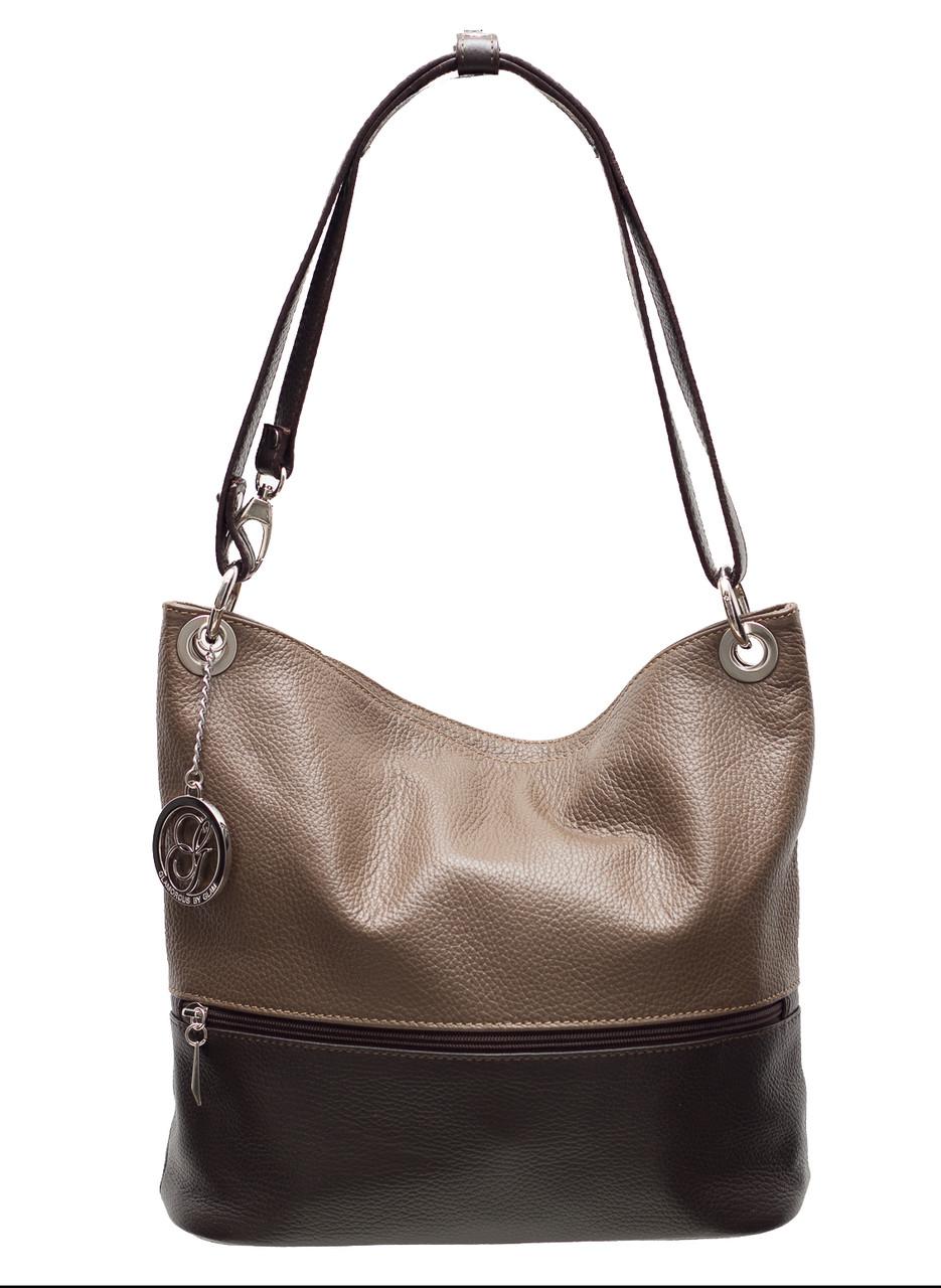 Kožená kabelka variabilní béžovo - hnědá - Glamorous by GLAM ... 37c55d09f6