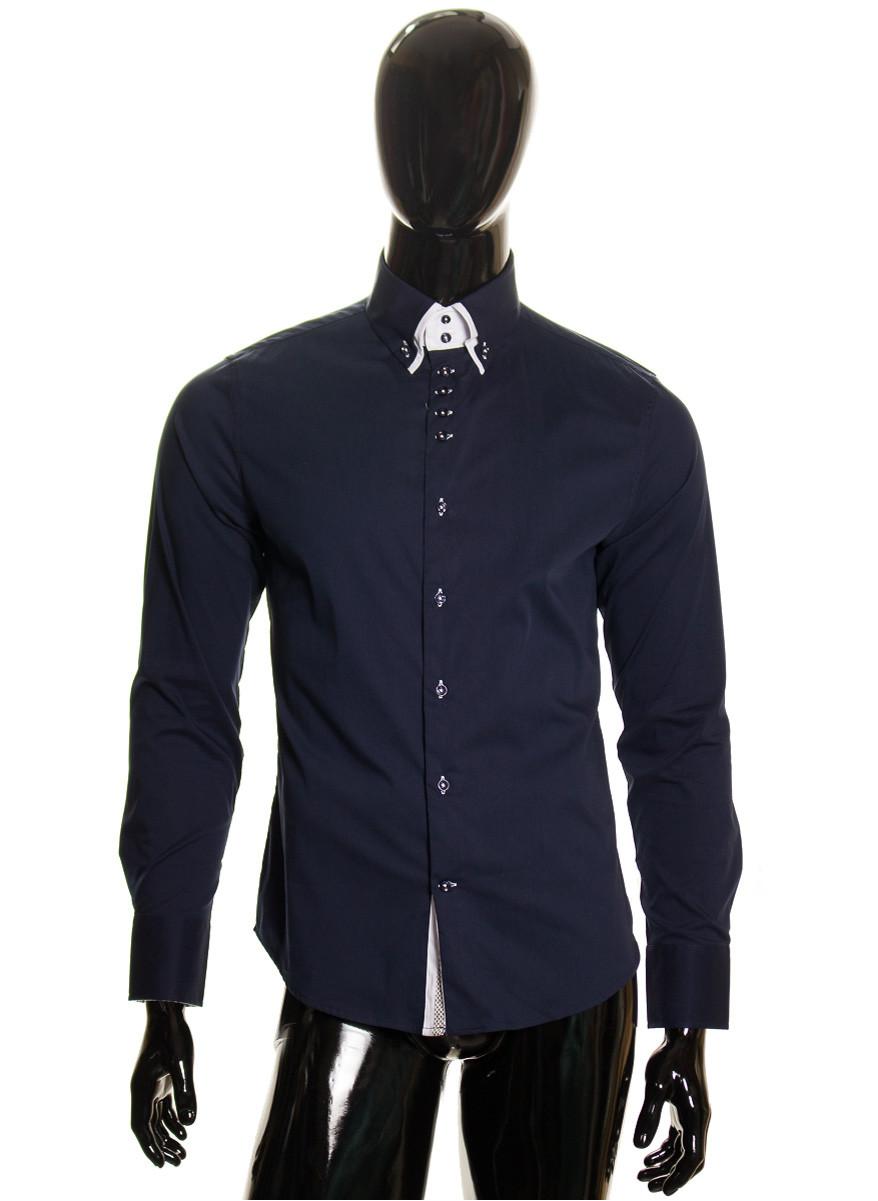 Pánská košile modrá - Pánské košile - Trička c5c2fe8d50