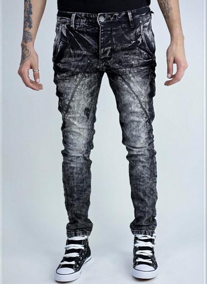 Glamadise.hu Fashion paradise - Férfi farmer - Fekete-fehér ... 3db94ac9c5