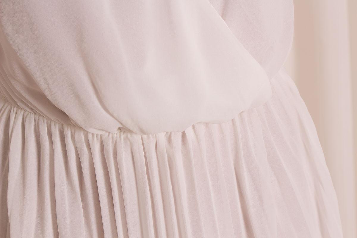 a4147a964b4 Dlouhé letní šaty se zlatým zdobením - bílá - Glamorous by Glam ...