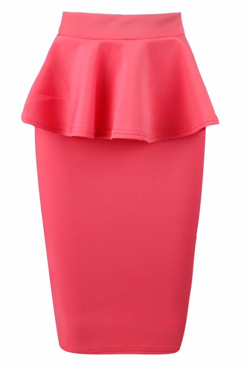 Glamadise.hu Fashion paradise - Női szoknya - Rózsaszín - Szoknyák ... e33eb25f7d