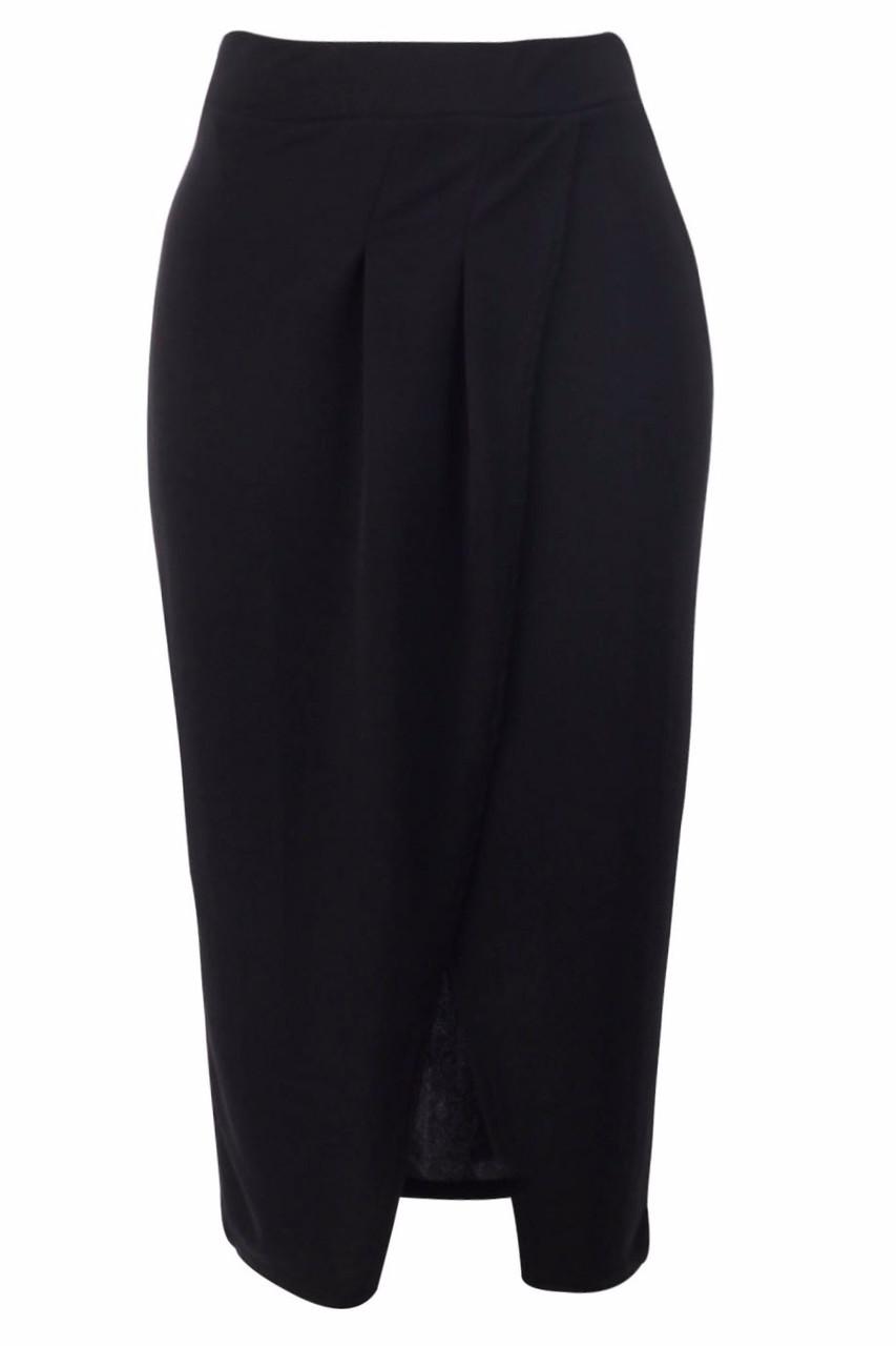 e6ab51f99dc Černá sukně s rozparkem - Sukně - Dámské oblečení - GLAM