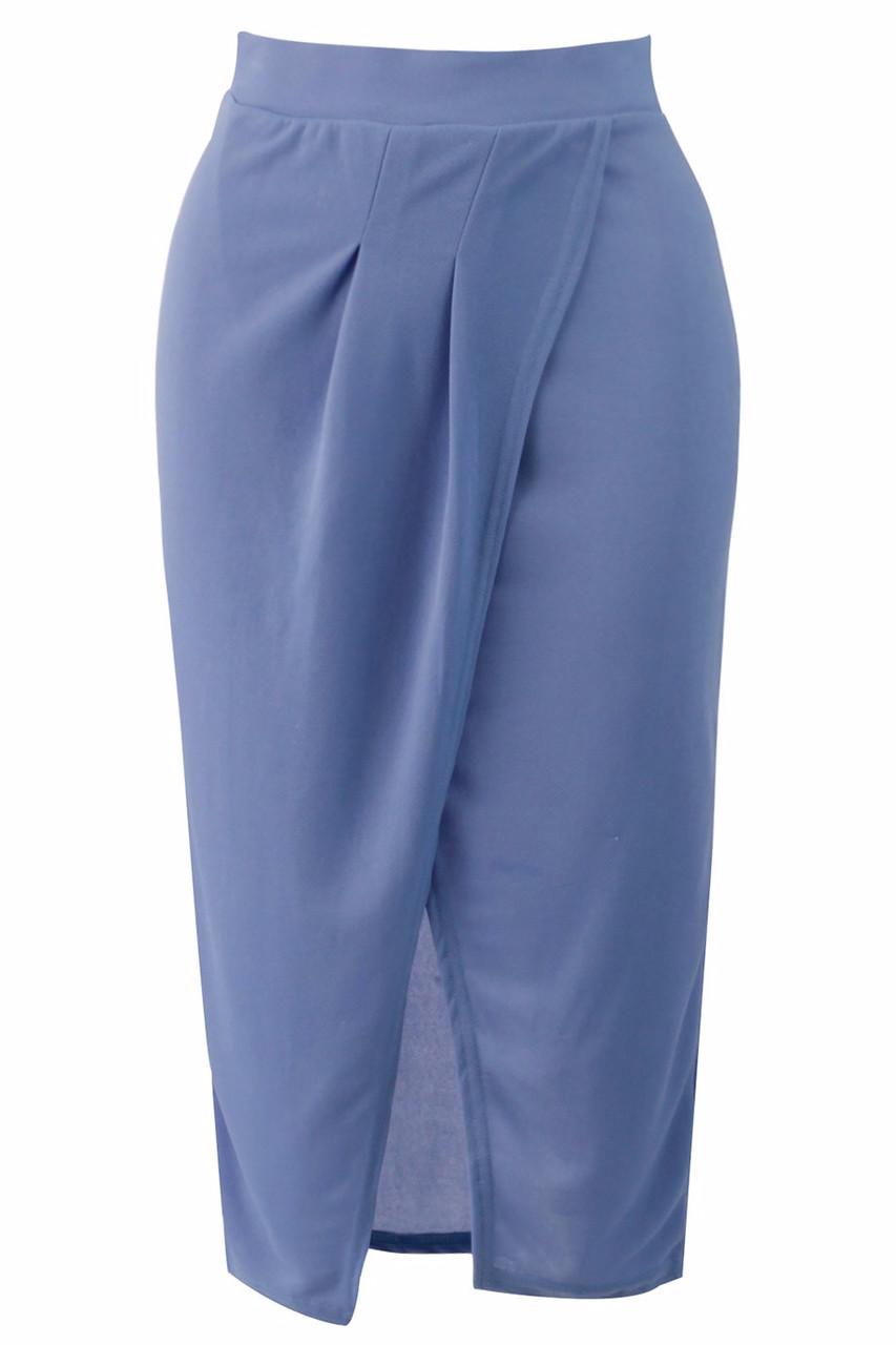 Glamadise.hu Fashion paradise - Női szoknya - Kék - Szoknyák - Női ... 90850ae997