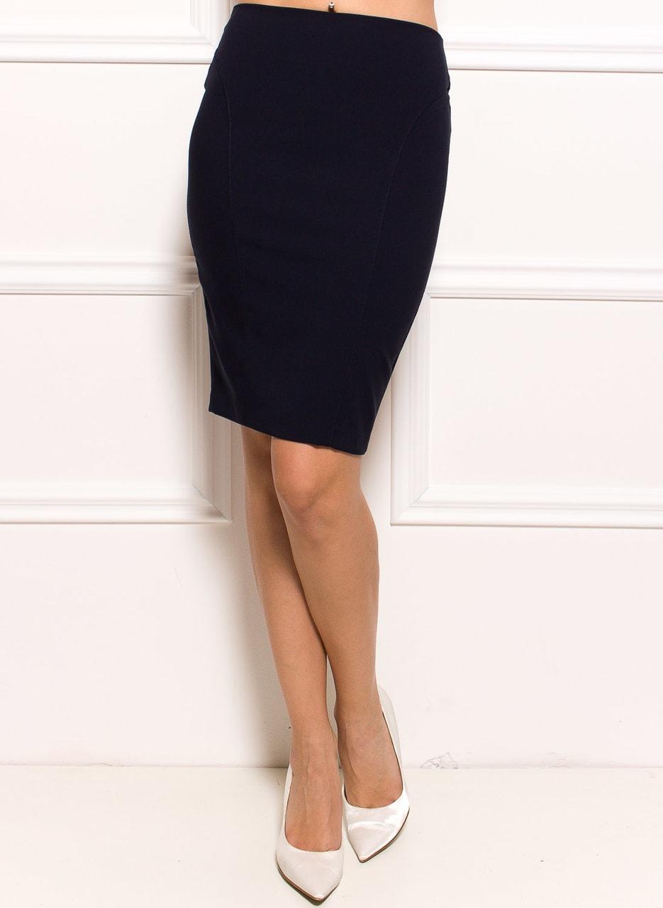e68b8dad453 Dámská pouzdrová sukně - tmavě modrá - Glamorous by Glam - Sukně ...