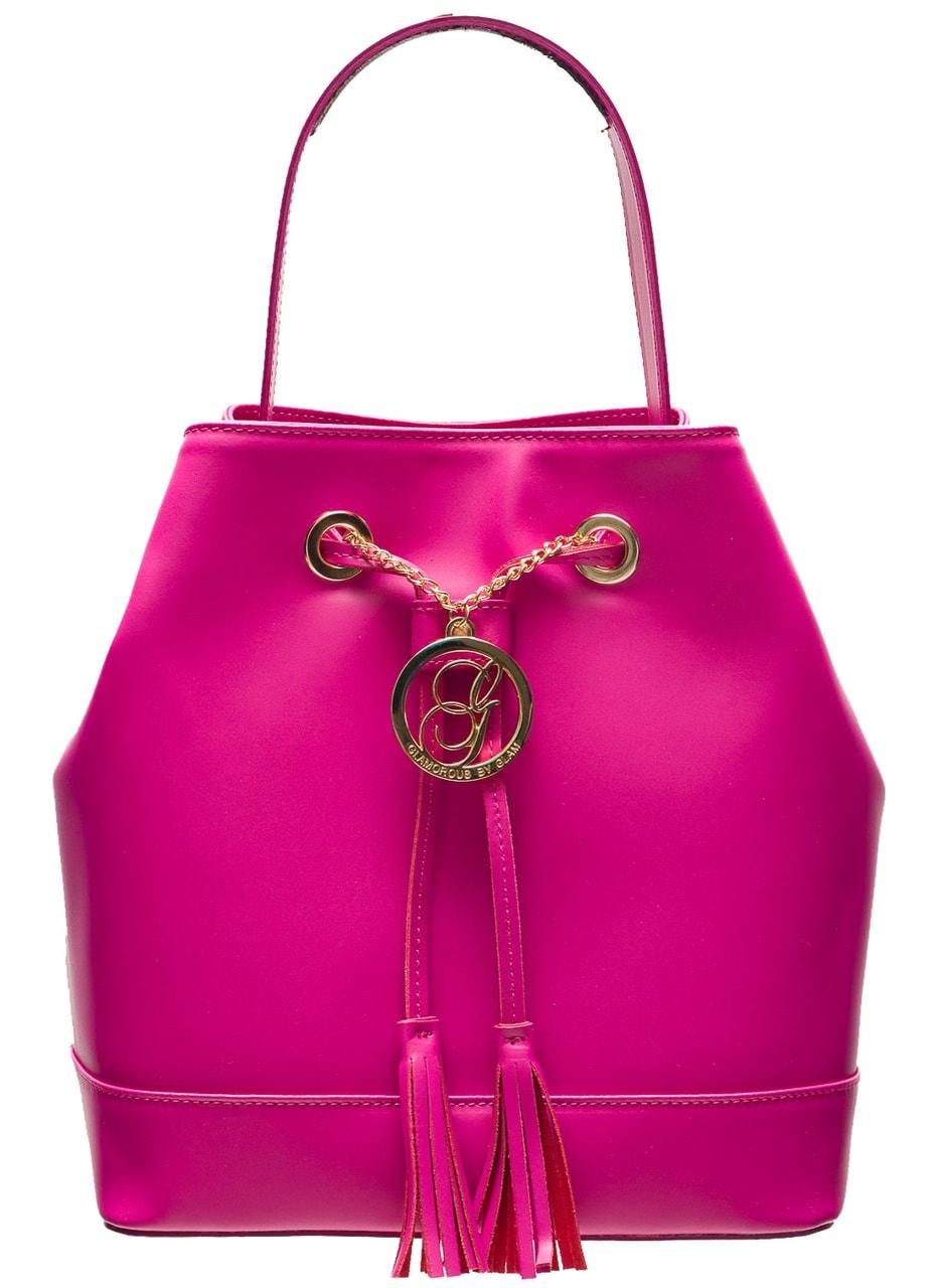 Glamadise.sk - Dámska kožená kabelka vak - ružová - Glamorous by ... e2e9a69487f