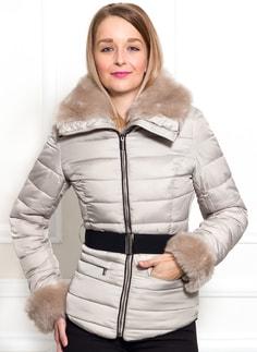 Glamadise.sk - Dámska zimná bunda čierna krátka - Due Linee - Bundy ... 2910b11bdb7