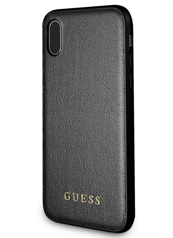 online store a628f 7ed12 Guess Case for iPhone X Black
