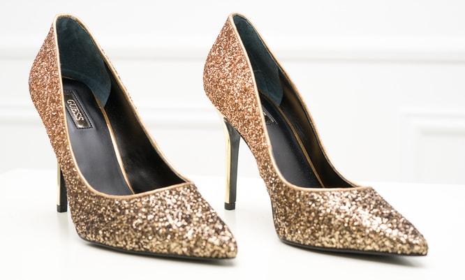 Guess zlaté lodičky - Guess - Lodičky - Dámská obuv - GLAM 13b9d5547f